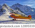 阿尔卑斯山脉 山峰 黄色 12895039