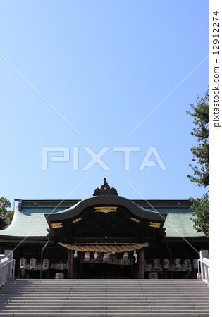 """高松市宫崎镇高松的神社""""Shikio八幡宫"""" 12912274"""