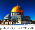 Dome of the Rock mosque in Jerusalem 12917907