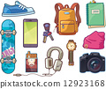 Set of Clothes and Accessories 12923168