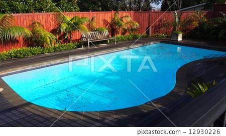 외국의 집 수영장 12930226