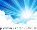 Sky Sun Cloud 12936138