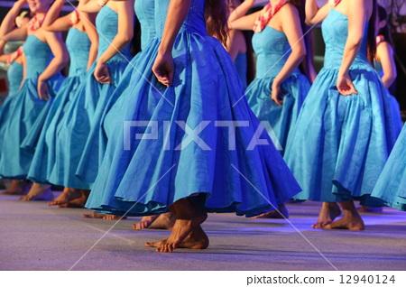 Hawaiian hula dancer 12940124