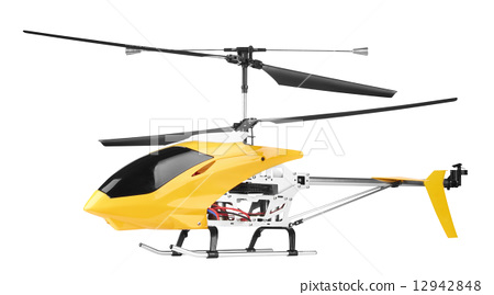 Model radio-controlled helicopter 12942848