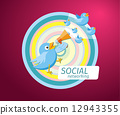 icon, symbol, social 12943355