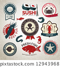 seafood, food, label 12943968