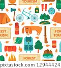 camping, vector, mountain 12944424