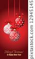 Christmas greeting card 12945145