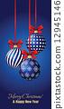 Christmas greeting card 12945146