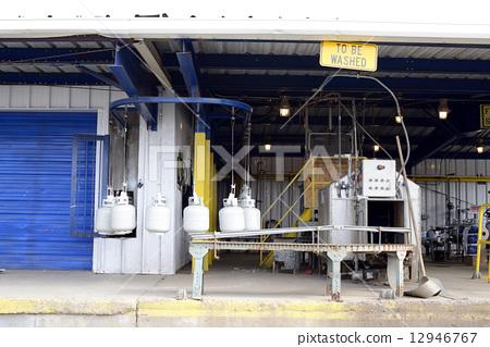 미국 프로판 가스 공장 12946767