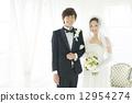 신부, 신랑, 웨딩 12954274