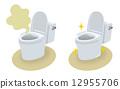 浴室清理 西式马桶 卫生间 12955706