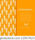 ears, wheat, vector 12957623