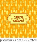 ears, wheat, seamless 12957929