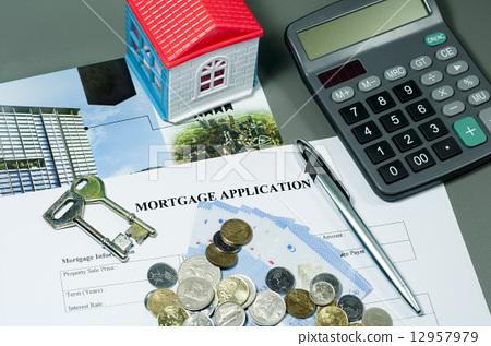 Mortgage Application Form 12957979