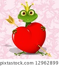 公主 王子 青蛙 12962899