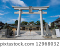 Torii of the Gokoku shrine 12968032