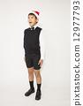 Singing boy (Christmas) 12977793