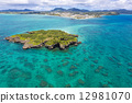 岛 冲绳 海洋 12981070