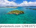 岛 冲绳 海洋 12981072
