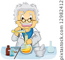 Scientist in a Laboratory 12982412