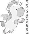 Cute Unicorn 12982690