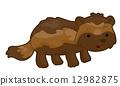 wolverine, illustration, vector 12982875