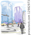 Urban Sketch 12982973