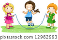 Jumping Rope 12982993