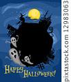 Halloween Design Frame 12983063