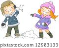 Snow Fight 12983133