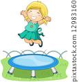 On Trampoline 12983160