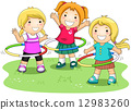 Hula hoops 12983260