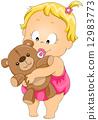 teddy, bear, toy 12983773