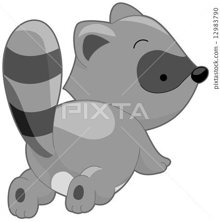 Cute Raccoon 12983790