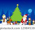 Christmas Scene 12984539