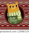 그림, 곰, 일러스트 12986319