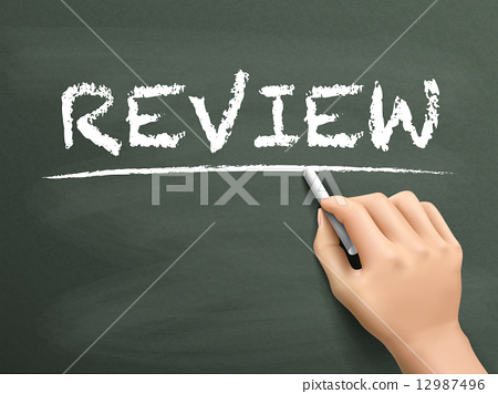 review, hand, write 12987496
