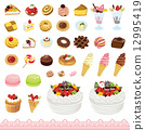 icon, sweet, vectors 12995419