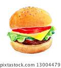 漢堡 食物 食品 13004479