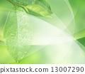 新綠色的Eco圖像 13007290