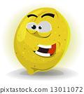 Lemon Fruit Character 13011072