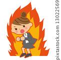 燃燒的女商人 13022569