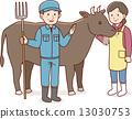 畜産農家 13030753