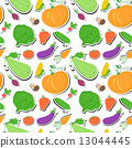 vegetables,vector,seamless 13044445