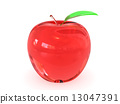 apple white red 13047391