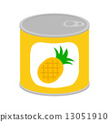 pineapple, canned, good 13051910