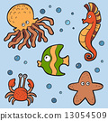 vector set sea 13054509
