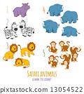 Safari animals 13054522