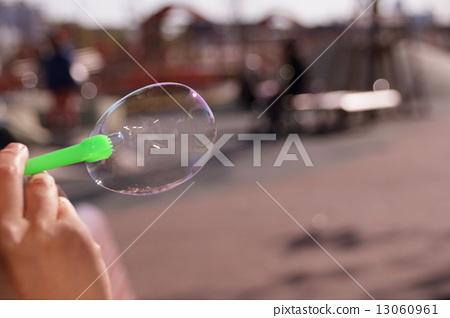 soap bubbles, soap bubble, glossy 13060961